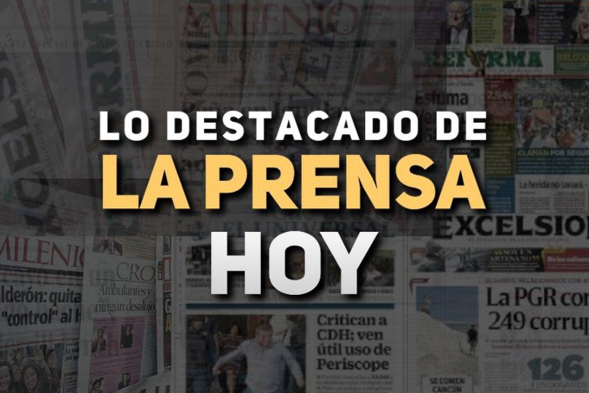 Arena Pública trae para ti las noticias de México hoy 15 de mayo.