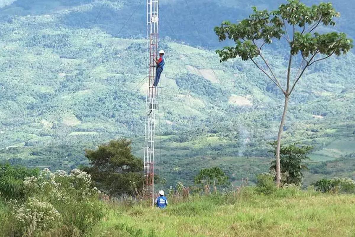 El nivel de penetración de Internet en hogares rurales de la selva es el más bajode todoPerú. Foto: Mediatelecom.