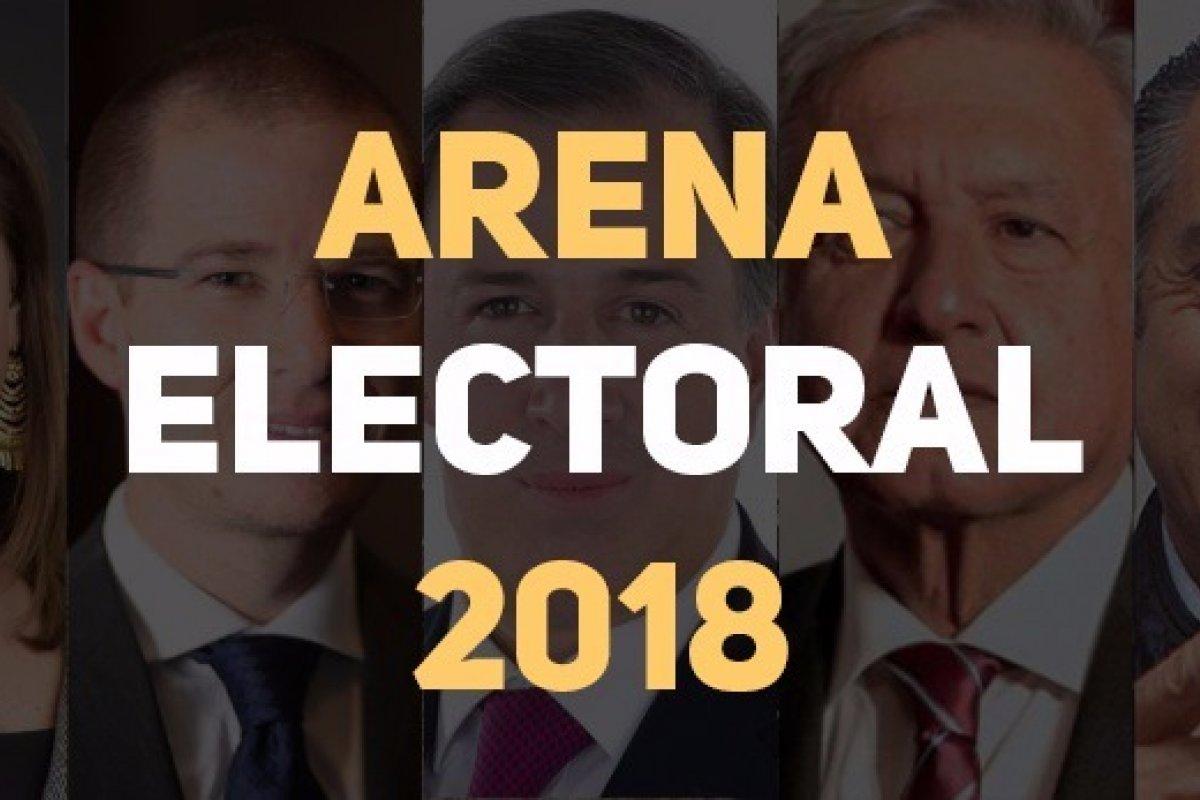 Arena Pública presenta el último corte de las encuestas presidenciales 2018 hoy 28 de mayo