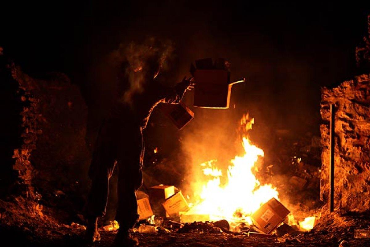 El 84% de las personas sin servicio de recolección de basura la quema para deshacerse de ella (Foto: Anthony L. Ortiz)