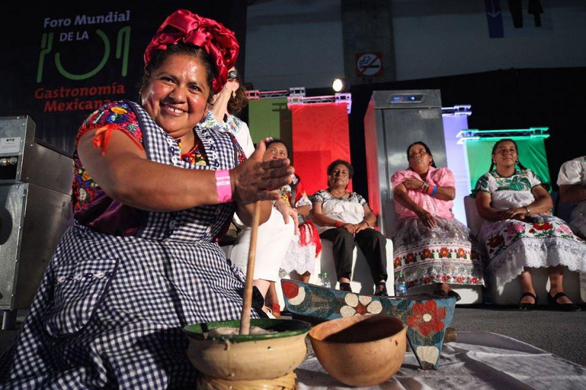 La importancia que le da la Secretaría de Turismo al turismo gastronómico es menos que secundario. Foto:Conservatorio de la Cultura Gastronómica Mexicana