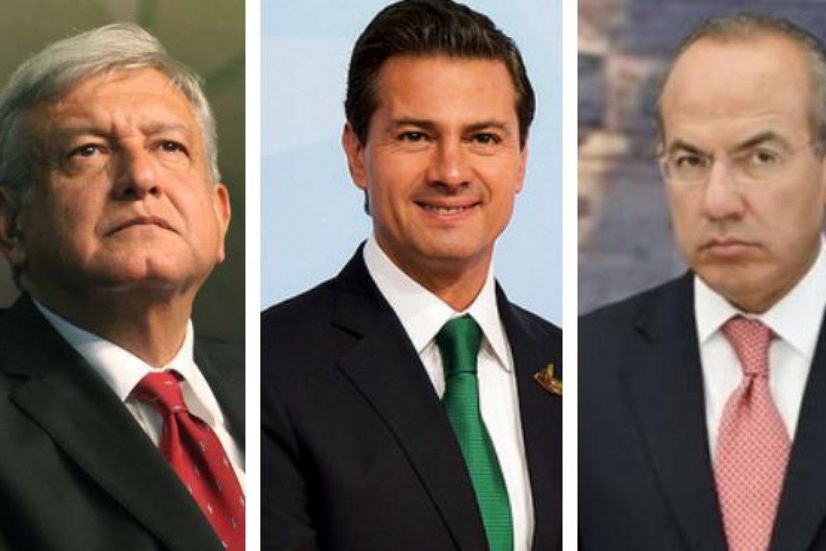 Estos son los gabinetes comparados de Andrés Manuel López Obrador, Enrique Peña Nieto y Felipe Calderón.
