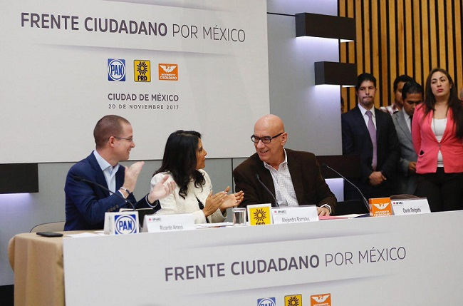 Frente Ciudadano elabora propuesta para futuro del país: Anaya