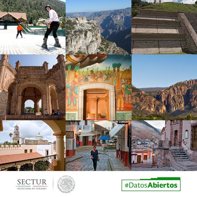 El turismo en México creció 2% según Inegi